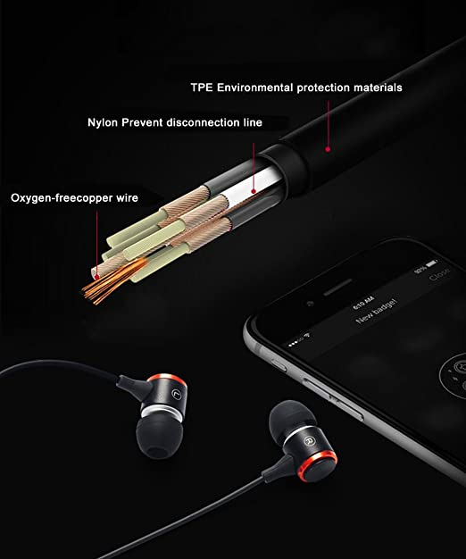 Auriculares cable,Auriculares In-Ear auriculares con ...