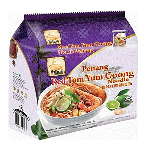 My Kuali Tom Yum Goong Noodle, Pack of 8