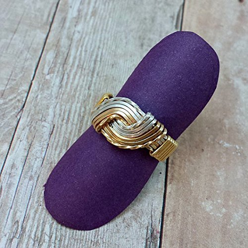 Symbolic of Love /& Commitment Wire Wrapped Submissive Dominants Unisex Temptress Ring