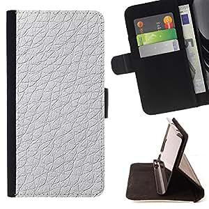 Jordan Colourful Shop - material white design pattern wallpaper For Apple Iphone 6 PLUS 5.5 - < Leather Case Absorci????n cubierta de la caja de alto impacto > -