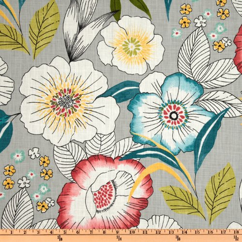 red and white upholstery fabric - 7
