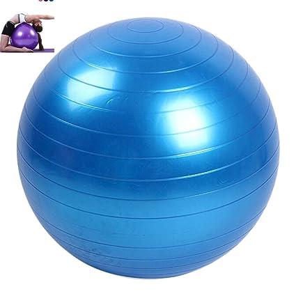 Lunji Balón Suiza de Gym – Super Durable, 45 cm – Balón Fitness para Gimnasia, Pilates, Yoga