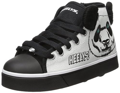 Heelys - X2 Zoo - Zapatillas con Ruedas - Panda - 32: Amazon.es: Zapatos y complementos