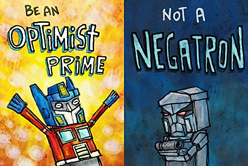 TST INNOPRINT CO Transformers Optimist Pessimist Optimus Pri