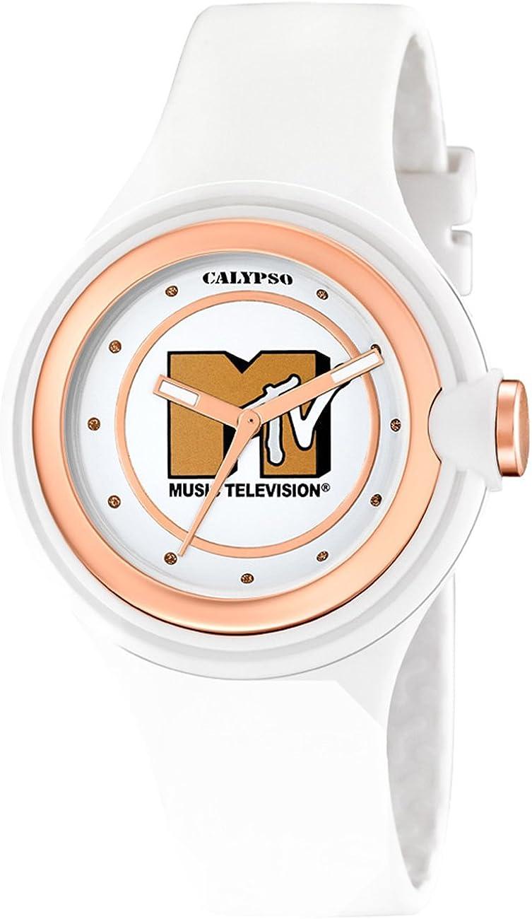 Calypso - Colección MTV blanco y cobre de mujer