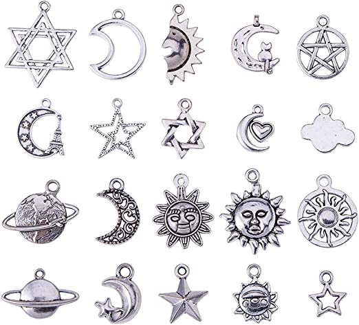 Tree Charm//Pendant Tibetan Antique Silver 32mm BULK 4 Packs x 5 Charms Accessory