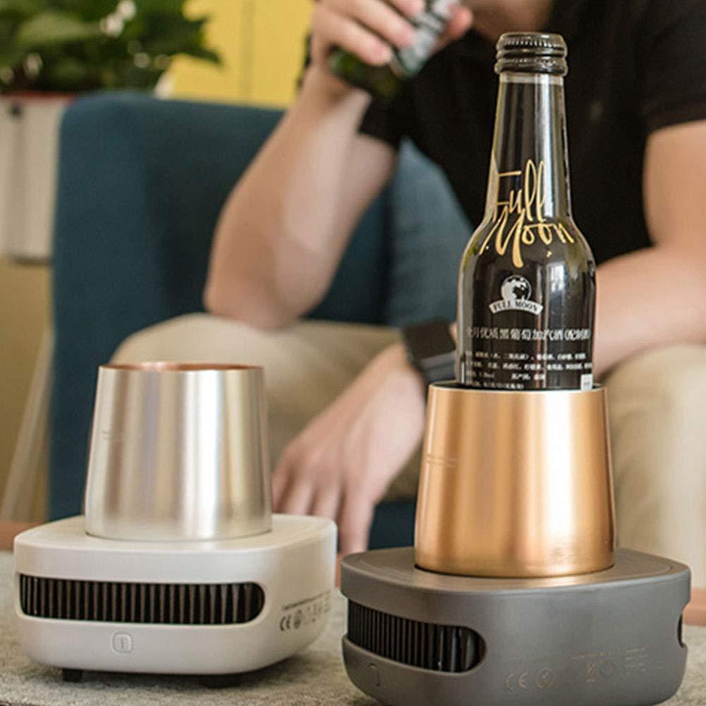 Taza de enfriamiento de aluminio para verano, práctico, fácil de ...