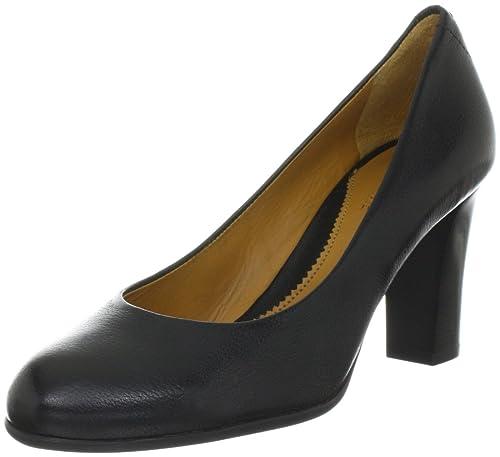 Lottusse S7299 - Mocasines clásicos de cuero mujer, color negro, talla 41: Amazon.es: Zapatos y complementos