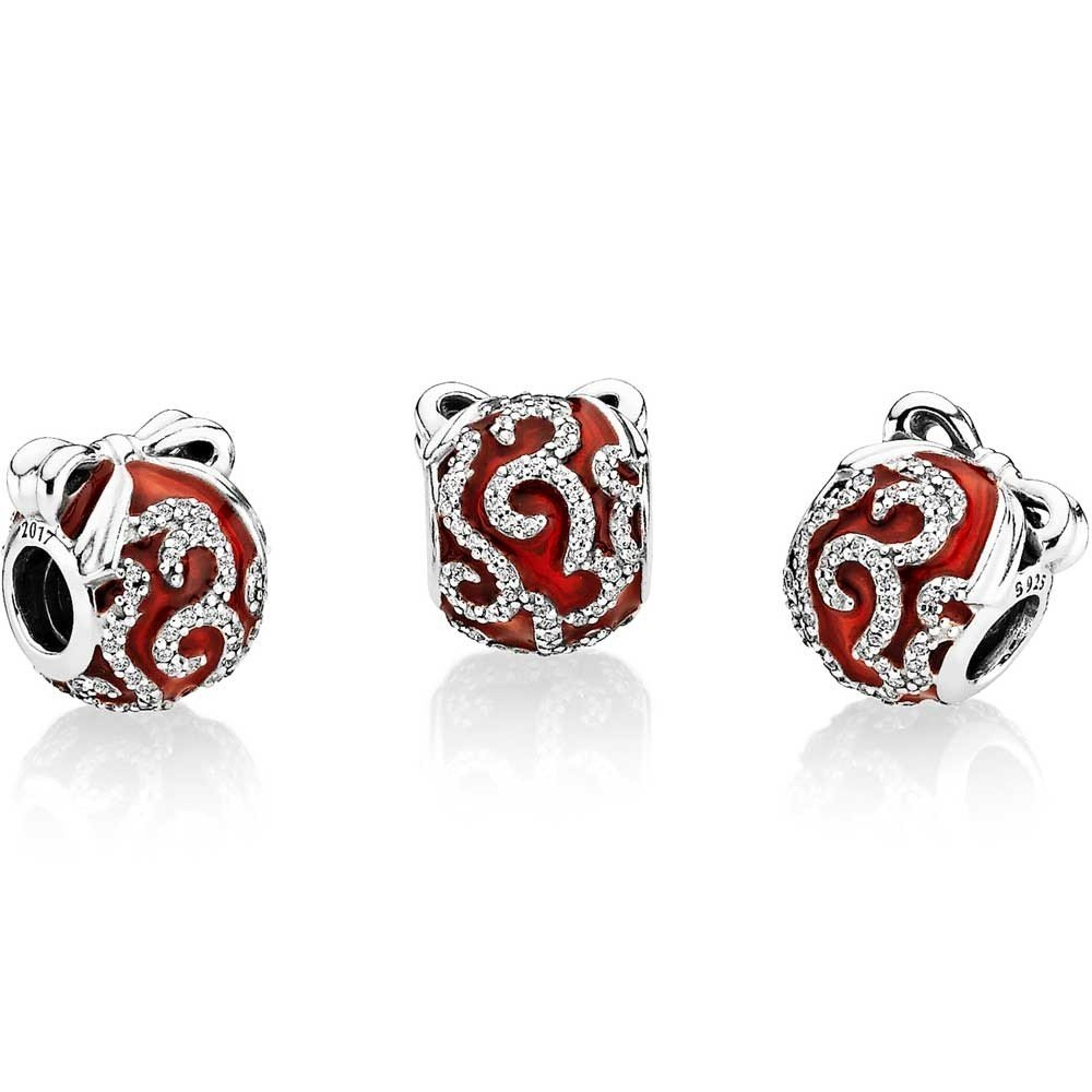 Pandora Limited Edition Bright Ornament Red Charm 796259EN07