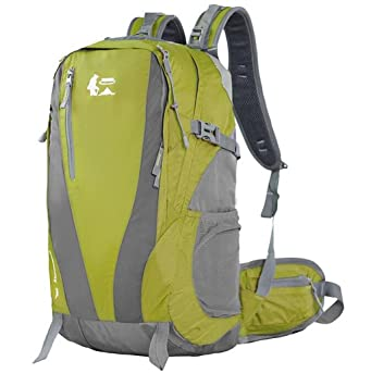 mochilas montaña Los hombres y las mujeres del bolso de hombro del alpinismo mochila de senderismo ...