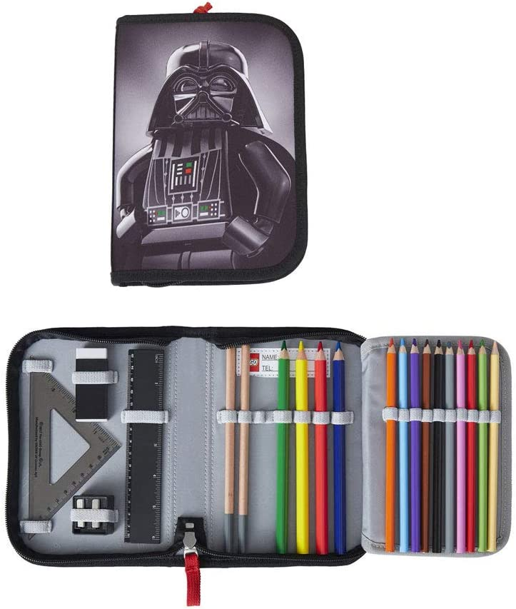 Lego – Estuche escolar/estuche/Pencil Case de Star Wars Darth Vader – Relleno: Amazon.es: Oficina y papelería