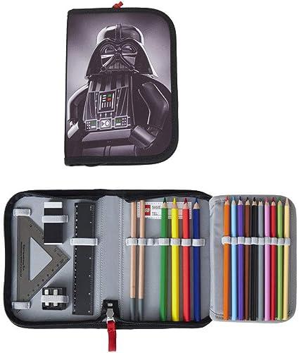 Lego – Estuche escolar/estuche/Pencil Case de Star Wars Darth Vader – Relleno: Amazon.es: Oficina y papelería