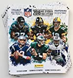 2018 Panini NFL Football Sticker Collection 20 Packs (100 Stickers)