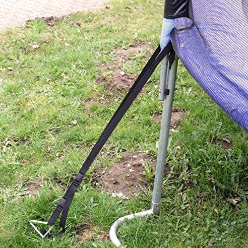 Ultrasport fijaci n para el suelo para cama el stica set for Casetas de jardin con suelo