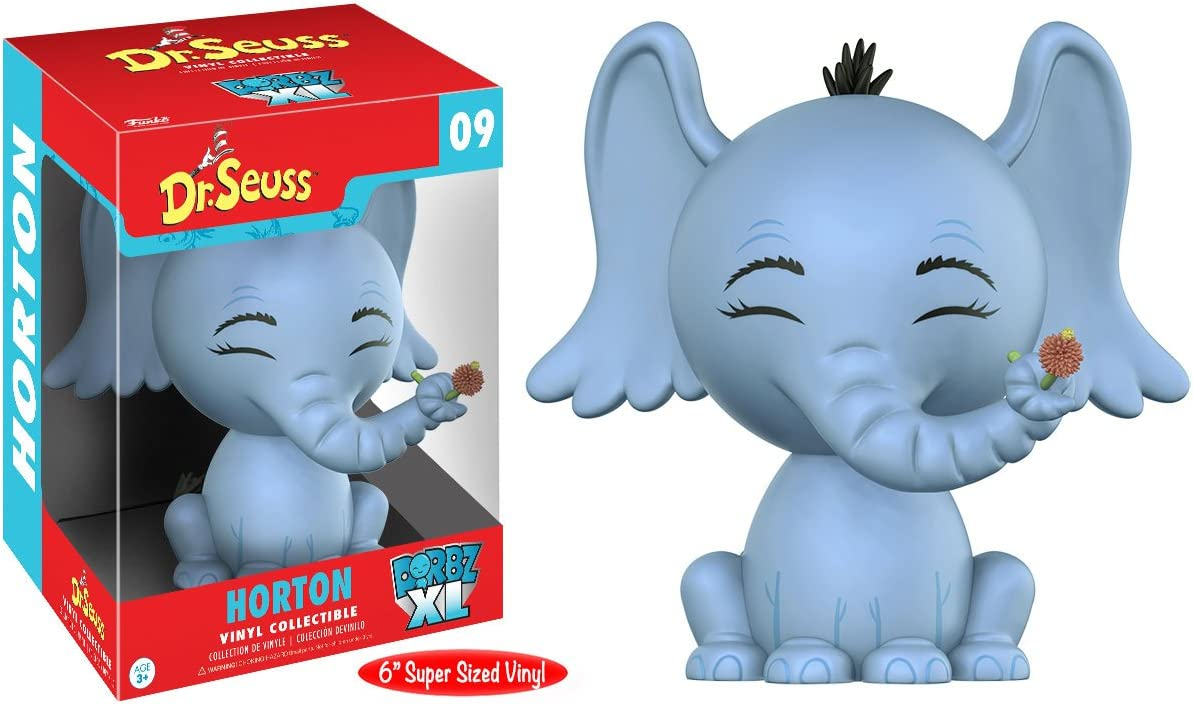 Funko Dorbz XL ~ HORTON VINYL FIGURE ~ Dr Seuss Horton Hears a Who