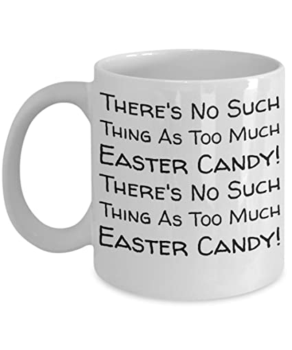 Easter Candy Mug Egg Jar Fun Kid For Children White Bpa Free Chocolate Cookies