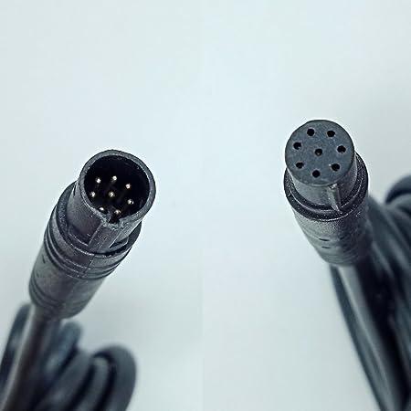 Yqmajim Dash Cam Rear View Backup Kamera Rückseite Kfz Recorder Kabel Verlängerungskabel 8pin 6 5 Ft Küche Haushalt