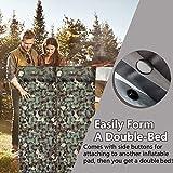 Mtouock Camping Sleeping Pad, Ultralight Inflatable
