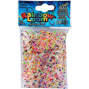 Amazoncom Loom Rubber Bands 4800 Pc Rubber Band Refill Value