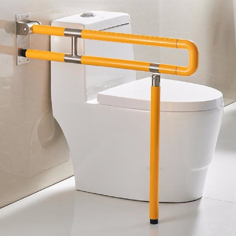 WAWZJ Handrail An Obstacle Free Toilet In The Toilet,Legged Yellow