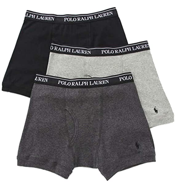 Men's 3 Pk. Classic Cotton Boxer Briefs