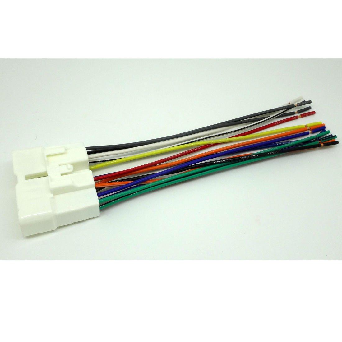 isuzu radio wiring amazon com conpus car stereo cd player wiring harness wire isuzu npr radio wiring diagram conpus car stereo cd player wiring