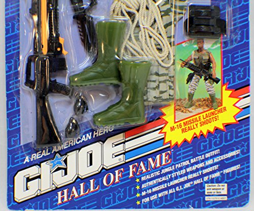 Gear Mission Gi Joe (GI Joe Hall of Fame Jungle Patrol Mission Gear)