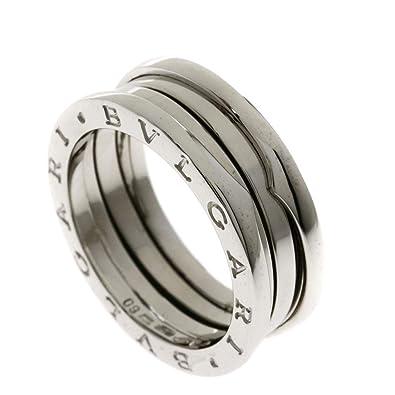 ad0f7ff04748 Amazon   [ブルガリ]B-zero1リング S #60 リング・指輪 K18ホワイト ...