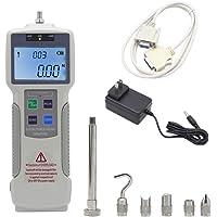 Boshishan - Manómetro digital con batería recargable (Kgf/Lbf/N)