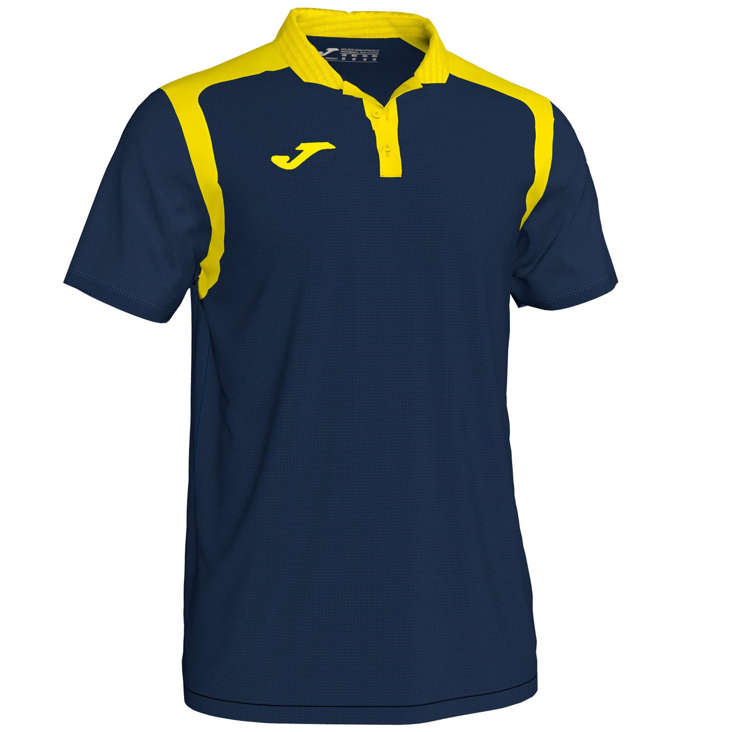 KiarenzaFD Joma Polo M/C Champion V 101265 Navy-Amarillo Fashion ...