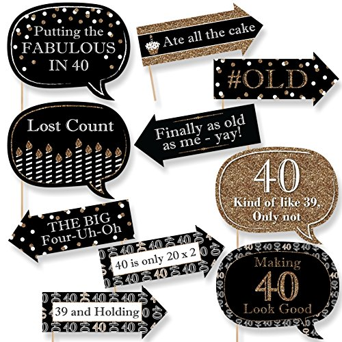 party decorations for 40th birthday amazon com