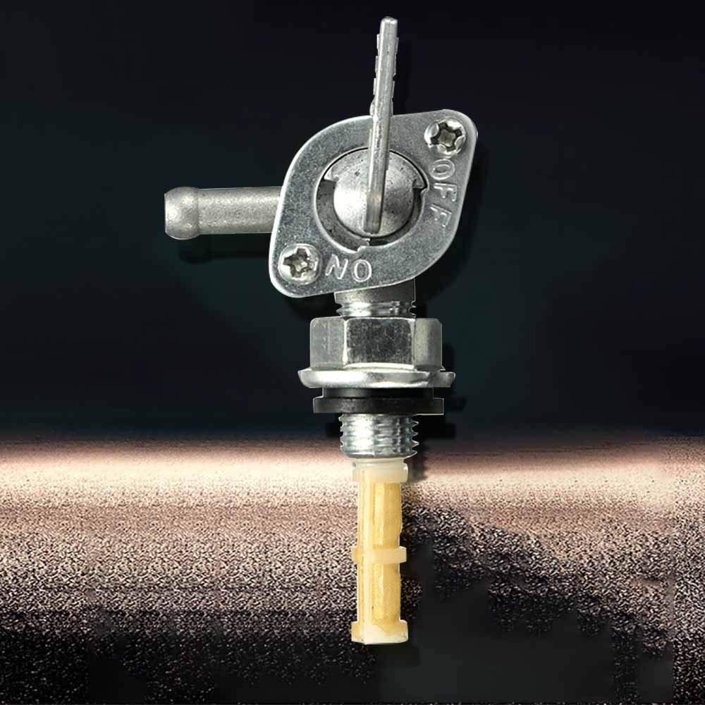 LACKINGONE Petrol Fuel Tank Tap Inline Filter On Off Switch Generator Pit Dirt Quad Bike