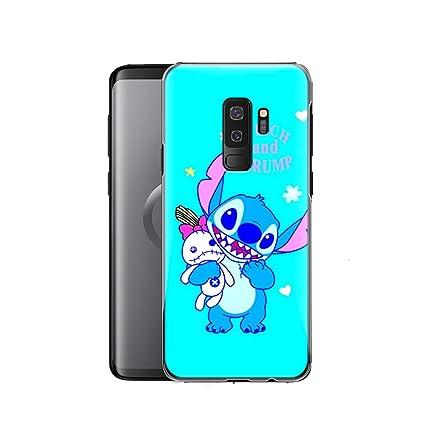 Amazon.com: gspstore Galaxy S9 Funda, Lilo y Stitch Disney ...