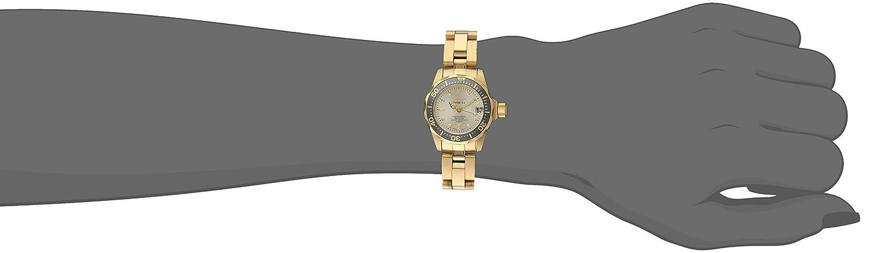 Amazon.com: Invicta Womens INVICTA-14987 Pro Diver Analog Display Japanese Quartz Gold Watch: Invicta: Watches