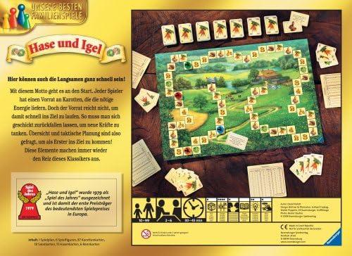 Ravensburger 264582 Niños y adultos Estrategia - Juego de tablero (Estrategia, Niños y adultos, 30 min, Niño/niña, 10 año(s), 99 año(s)): Amazon.es: Juguetes y juegos