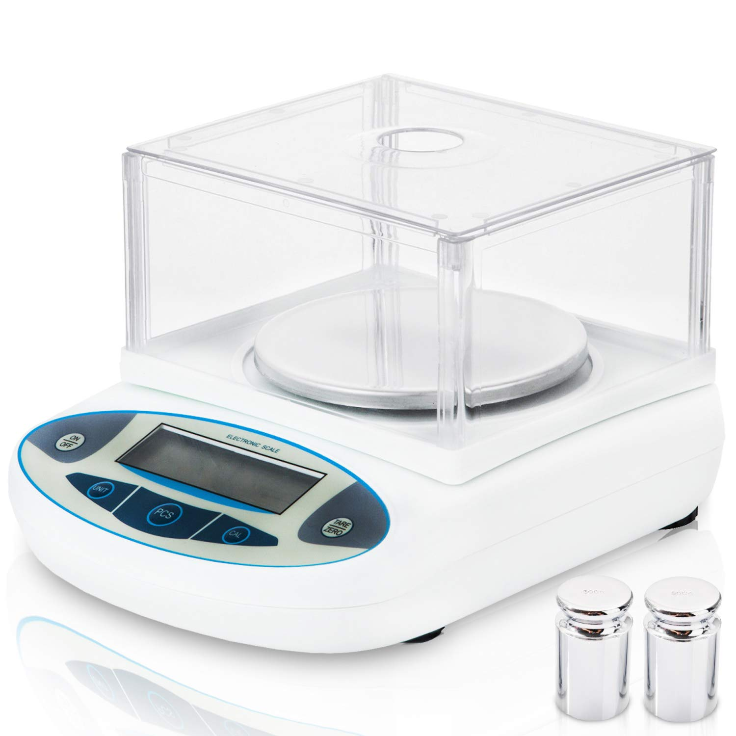0160409c7a9c 3000g x 0.01g Lab Analytical Balance Scale, MOCCO 10 mg High Precision  Electronic Scientific Scale Accuracy Weighs Laboratory Instrument with 500g  ...