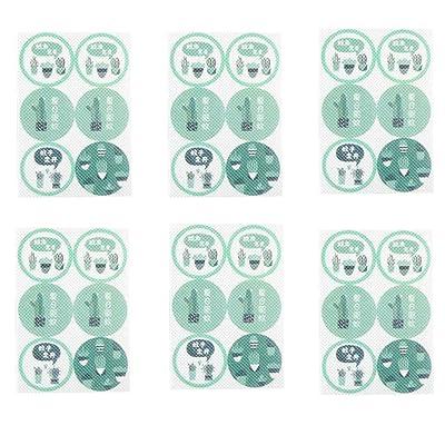 TianranRT Pegatinas Antimosquitos, Parche Antimosquitos Cactus Protect Kids Kit de Adhesivos Antimosquitos Para Bebé Pegatina Repelente de Mosquitos: Bricolaje y herramientas