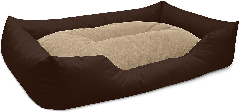 BedDog/® Letto per Cane//Gatto Cuccia Mimi S Fino a XXXL Cuscino Divano 26 Colori a Scelta Cestino per Cane,Nero S