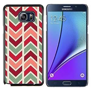 Stuss Case / Funda Carcasa protectora - Motif Teal Maroon - Samsung Galaxy Note 5 5th N9200