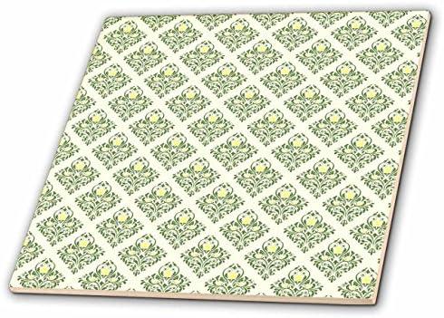 c076cc24c927 Amazon.com: 3dRose Anne Marie Baugh - Patterns - Cute Yellow and ...