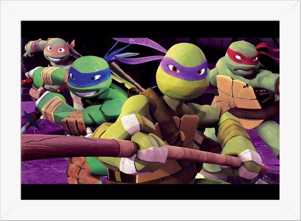 Cuadro Decorativo Tortugas Ninja 2: Amazon.es: Hogar