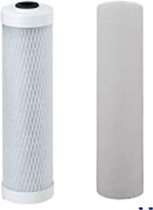 Compatible Watts 560088 Lead, Cyst, VOC Carbon Block Two Stage Replacement Filter Pack