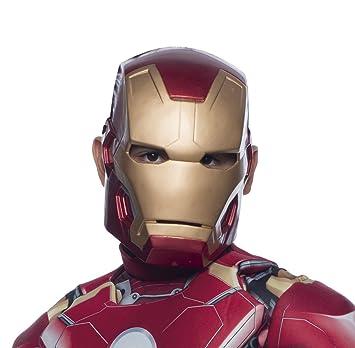 Avengers Mascara Iron Man infantil, talla única (Rubies Spain 36251)
