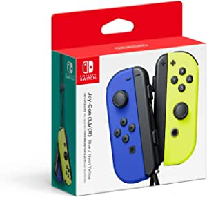 Nintendojoy con Azul Amarilloacc - Joy Con L R Azul Neon Amarillo - Standard Edition