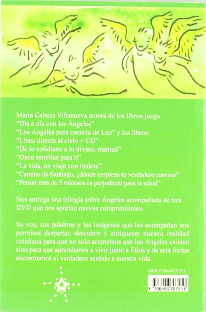 ARTE-TERAPIA CON ANGELES + DVD: Marta Cabeza: 9788496707511: Amazon.com: Books