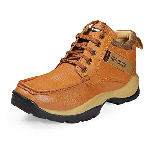 Red Chief Men's Elephant Tan Leather