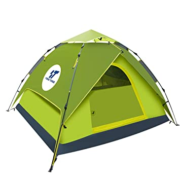 Yongtong Backpacking Tent 3-4 person 4 Season Outdoor Automatic Pop Up Ultralight Tent  sc 1 st  Amazon.com & Amazon.com : Yongtong Backpacking Tent 3-4 person 4 Season ...