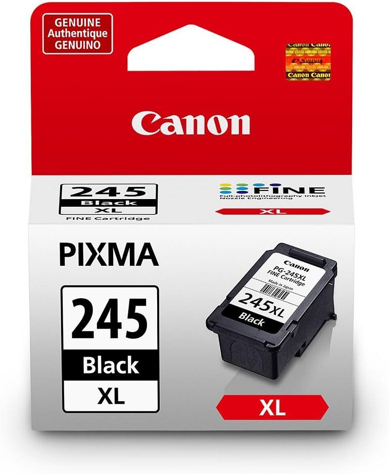 Canon PG-245XL Black Cartridge, Compatible to MX492, MG3020,MG2920,MG2924, iP2820, MG2525 and MG2420 - 8278B001