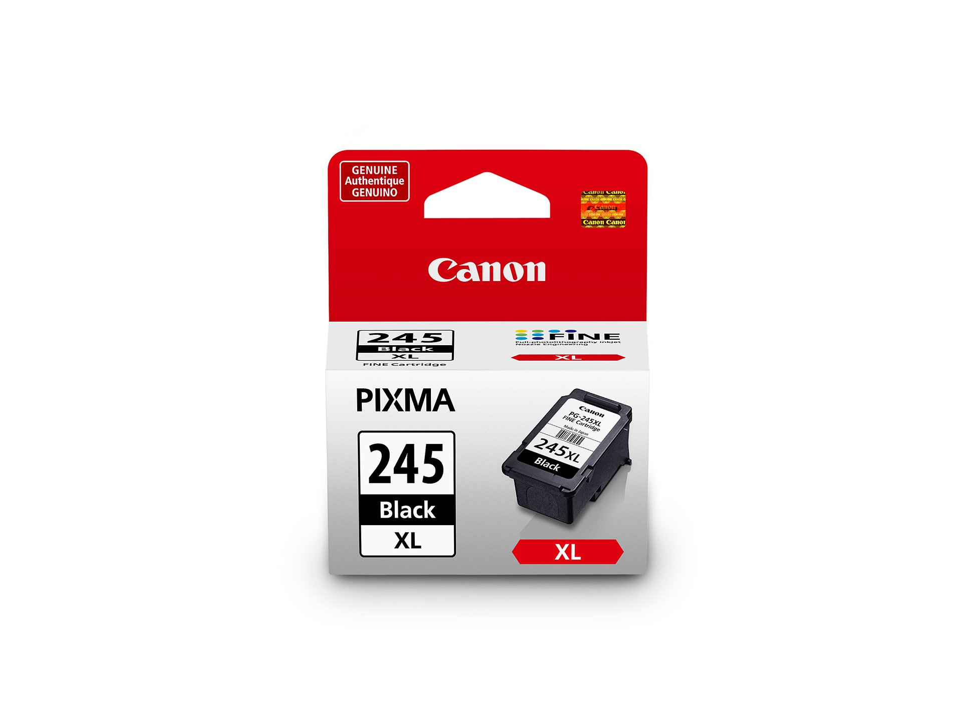 Canon PG-245XL Black Cartridge, Compatible to MX492, MG3020,MG2920,MG2924, iP2820, MG2525 and MG2420 - 8278B001 by Canon