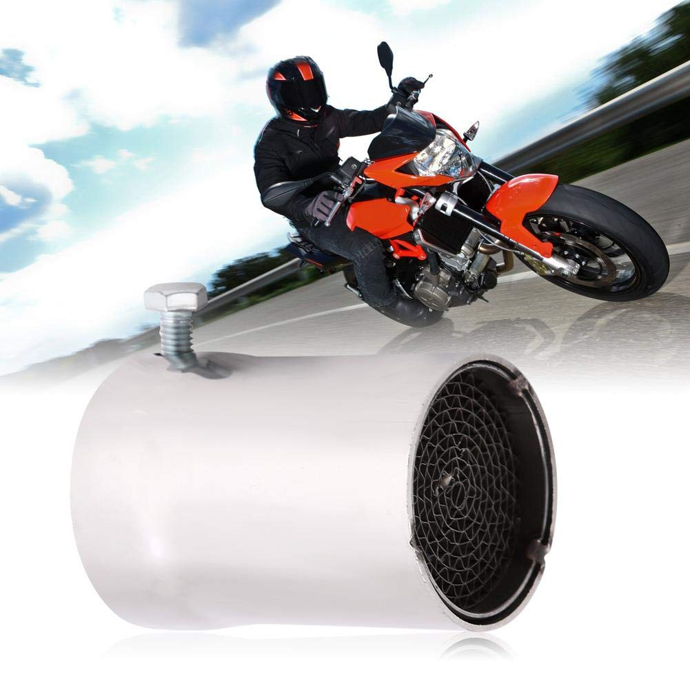 Exhaust Pipe DB Killer,51mm Universal Motorcycle Exhaust Pipe Muffler Silencer Insert DB Killer Noise Eliminator Motorcycle Modification Accessory 5#